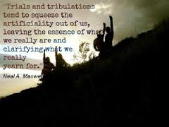 trials and trbulations